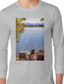 Table For Two - Mirror Lake Long Sleeve T-Shirt