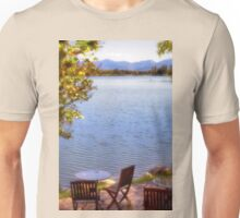 Table For Two - Mirror Lake Unisex T-Shirt