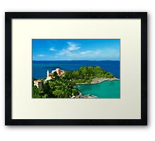 Italian Coast Framed Print