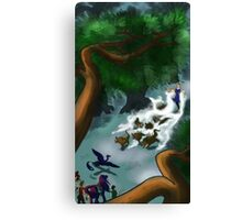 The Elemental Canvas Print