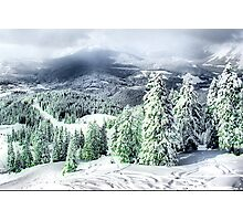 A Winters Dream Photographic Print