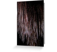 Crystal Ice © Greeting Card
