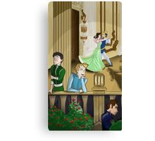 The Balcony Canvas Print