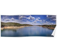 The beautiful Mundaring Weir Poster