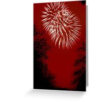 Fireworks Spectacular © Greeting Card