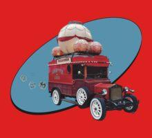 Steampunk Ballooner Wagon One Piece - Short Sleeve