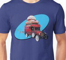 Steampunk Ballooner Wagon Unisex T-Shirt