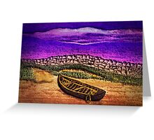 Pastel by the Sea Greeting Card