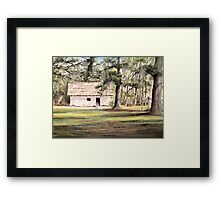 The Old Spanish House Framed Print