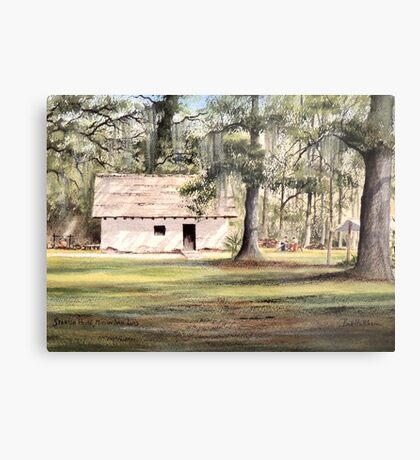 The Old Spanish House Metal Print