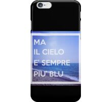 Cielo Blu iPhone Case/Skin