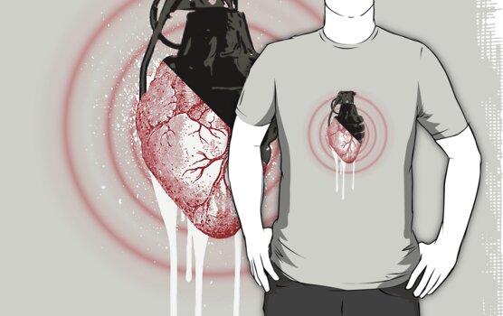 The Love Grenade by densitydesign