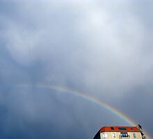 Rainbow House by AnnaGriff