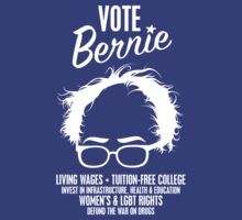 Vote Bernie Hair Shirt with Speaking Points by AndrewHart