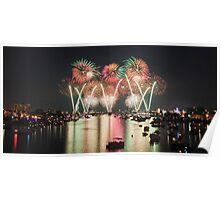 2011 Bay City Fireworks Festival Poster
