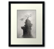 Stone of Turning Framed Print