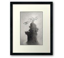 Stone of Turning Framed Print