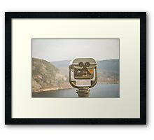View Here Framed Print