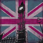 Union Jack and Big Ben by claryce84