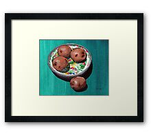 Fourth of July Foursome Framed Print