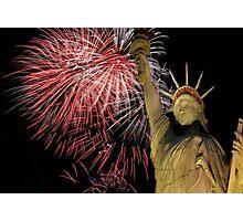 Happy Birthday America Photographic Print