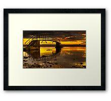 Belhaven Sunset Framed Print