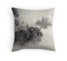 At The Shore Of A Wider Sea Throw Pillow