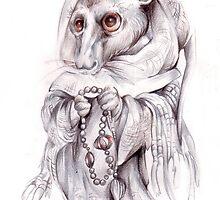 civicata-the monk by Maryna  Rudzko
