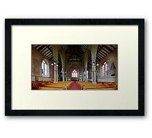 St Mary The Virgin, Stone - Nave Framed Print