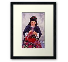 Vanishing Greece Framed Print