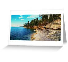 A Rocky Shore Greeting Card