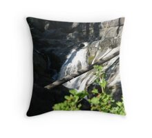 Bear Creek Falls II Throw Pillow