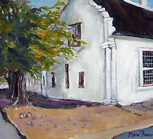 Old Cape House at Malmesbury by Marie Theron