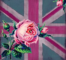 Union Jack and English Roses by claryce84