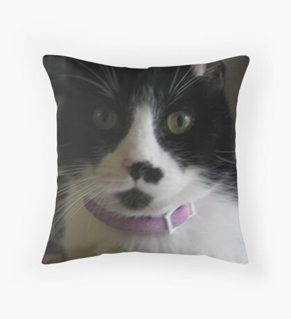 Sugar Kittie II Throw Pillow