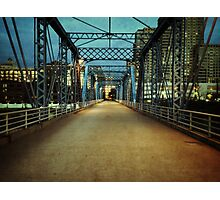 The Empty Bridge Photographic Print