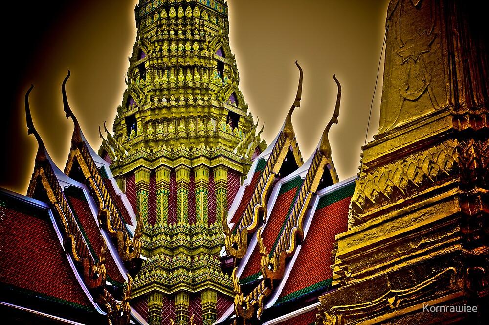 Thai symbol... by Kornrawiee