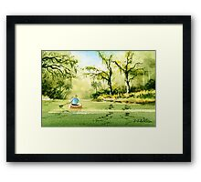 Canoeing The Rivers Of Florida II Framed Print