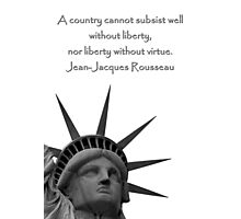 Liberty With Virtue Photographic Print