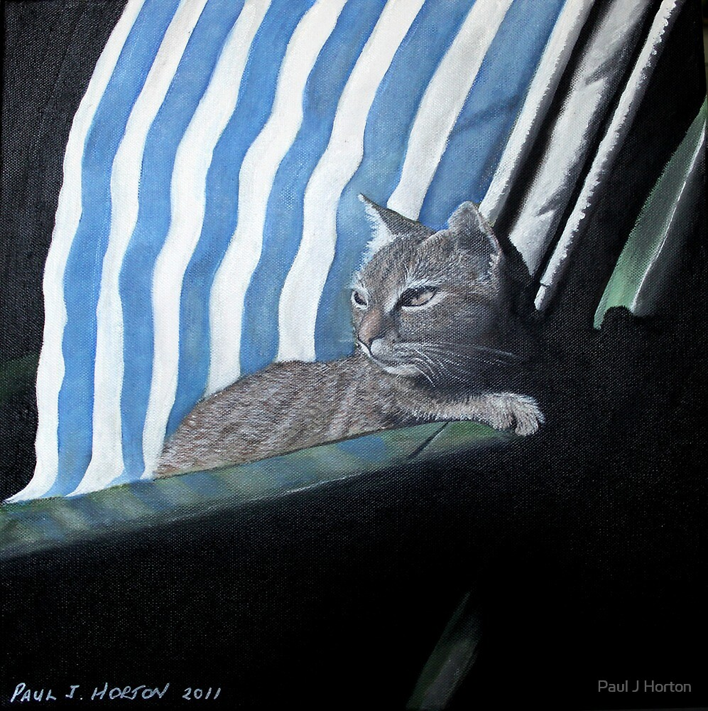 Lazy Sunday (Acrylic) by Paul Horton
