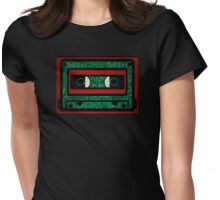 Vintage Tech Womens Fitted T-Shirt