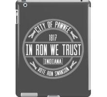 In Ron We Trust! iPad Case/Skin