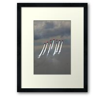 'Festival of speed' Red Arrows Framed Print