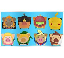 Ninted Piggies Poster