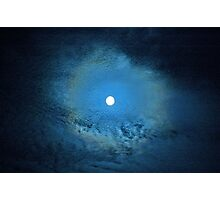 """Blue Moon"" Photographic Print"