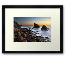 Adraga Beach II Framed Print