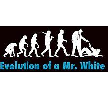 Evolution of Mr White Photographic Print