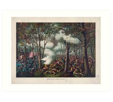Tecumseh's War Battle of Tippecanoe November 7, 1811 Art Print