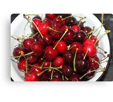 Cherries...... Canvas Print