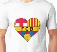 FCB love Unisex T-Shirt